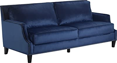 Truly Home UPH10158A Parker Sofa Navy Blue