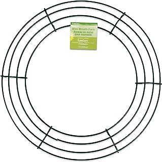 """FloraCraft Floracraft Wire Wreath 12""""-Green, RS9773/6/4, Green, 12"""""""