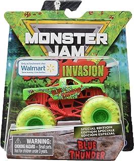 MonsterJam Blue Thunder [1:64 Scale], Zombie Invasion