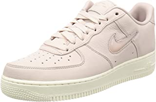 Mens Air Force 1 Retro Premium Leather Signature Fashion Sneakers