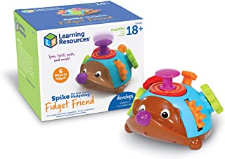 Learning Resources Spike the Fine Motor Hedgehog Fidget Friend, Tactile Toy for Toddlers, Ages 2+