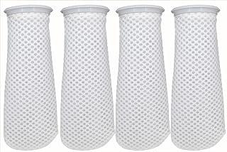 Filter Socks 4 inch, 3D Honeycomb Design Filter Sock. 4 inch Ring by 11.8 inch Long, Aquarium Filter Sock for Freshwater/S...