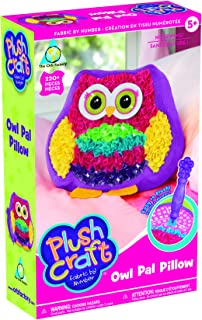 The Orb Factory Plushcraft Owl Pal Pillow - Craft Kit