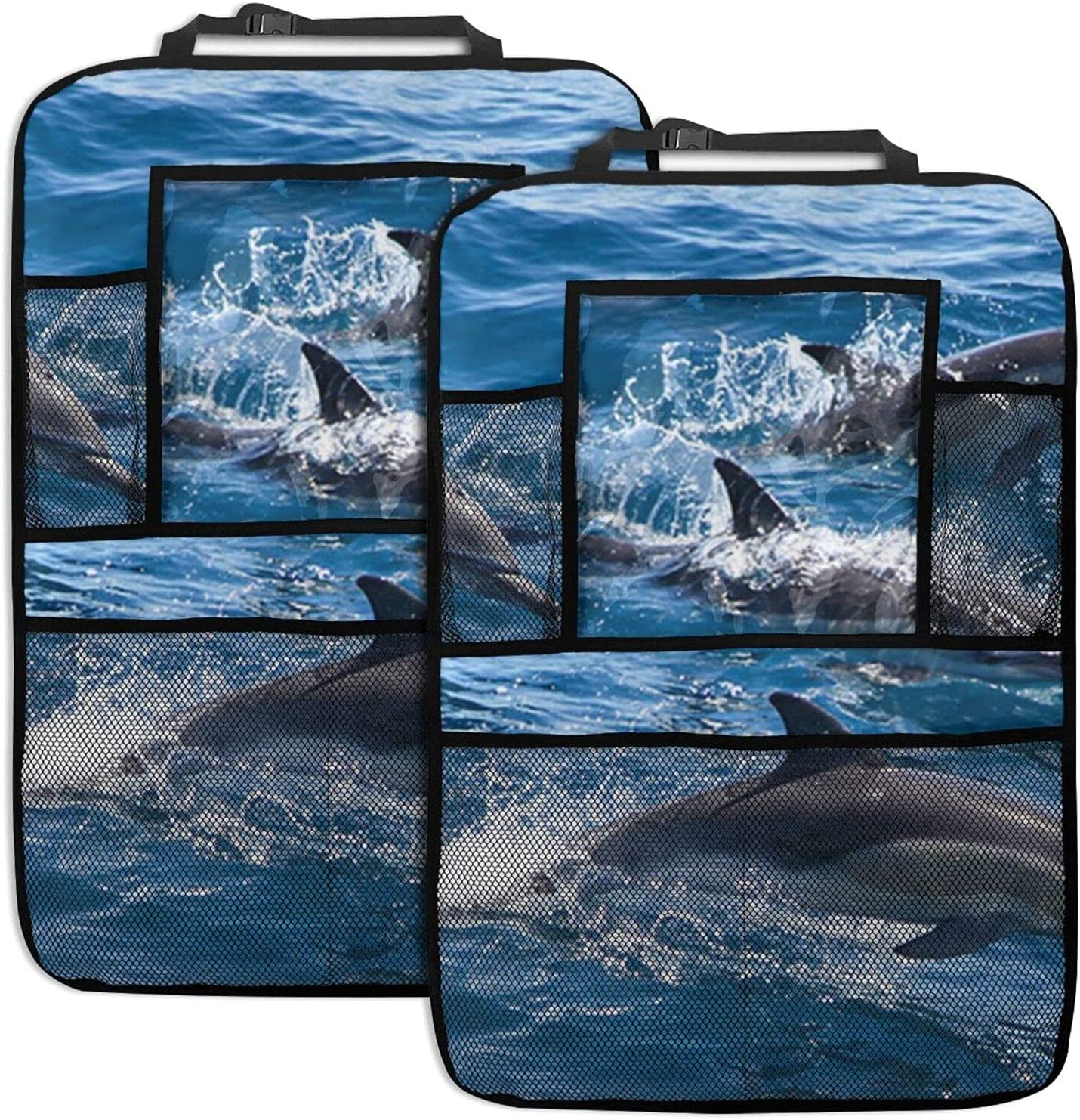 Kounnena Dolphins in The Sea Seats Organizer Car Backseat Courier shipping free shipping Ba Store