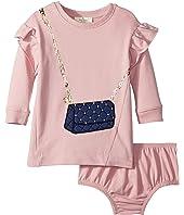 Kate Spade New York Kids - Quilted Handbag Dress (Infant)