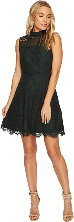 BB Dakota - Reese Lace Fit & Flare Dress