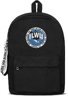 WJINX ILWU Local 13 Casual School Backpack Lightweight Bookbag