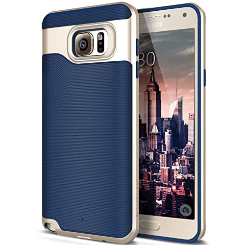 Galaxy Note 5 Case, Caseology [Wavelength Series] Textured Pattern Grip Cover [Navy Samsung Cases: Amazon.com