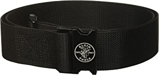 "Klein Tools 5705 PowerLine Tool Belt, Nylon w/Metal Buckle, Size 28""-54"", 2"" Wide, Blk"