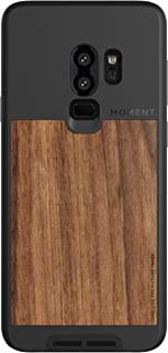 Galaxy S9+Case    Moment Photo Case in Walnut Wood - Protective, Durable, Wrist Strap Friendly case for Camera Lovers.