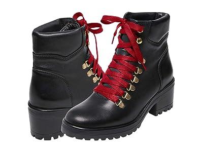 Steve Madden Galway Boot (Black Leather) Women