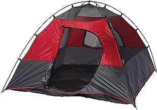 خيمة التخييم في الهواء الطلق فقدت بحيرة مربعة قبة من Texsport ، Molten Lava/Grey