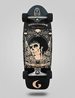 Glutier Surfskate Guadalupe blac 30,5¨ with T12 Su...