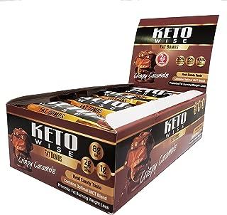 Keto Wise Fat Bombs - Crispy Caramels - 16 Packs 32g Each