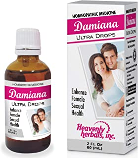 Damiana Ultra Drops for Female   Highest Potency and Purity on The Market   2. Fl oz   for Weight Management,Libido,Energy...