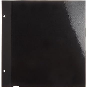 ナカバヤシ ファイル 100年台紙 フリーアルバム替台紙 Lサイズ ブラック アH-LFR-5-D [並行輸入品]