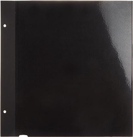 ナカバヤシ ファイル 100年台紙 フリーアルバム替台紙 Lサイズ ブラック アH-LFR-5-D