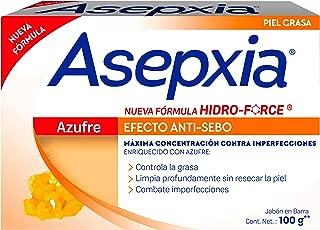 Asepxia Jabon Azufre 100 G