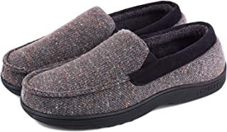 Men's Comfy Moccasin Slippers Loafer House Shoes