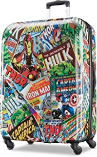 d02fa68e7ef613 American Tourister Kids' Marvel Comics Hardside Spinner 28, Green/Red/Black