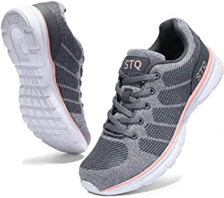 Road Running Shoes for Women Breathable Walking Tennis Shoes Comfortable Mesh Fashion Sneakers