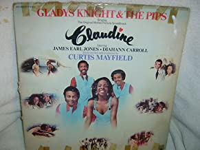 CLAUDINE - ORIGINAL MOTION PICTURE SOUNDTRACK - vinyl lp. STARRING JAMES EARL JONES - DIAHANN CARROLL - SCORE WRITTEN AND PRODUCED BY CURTIS MAYFIELD