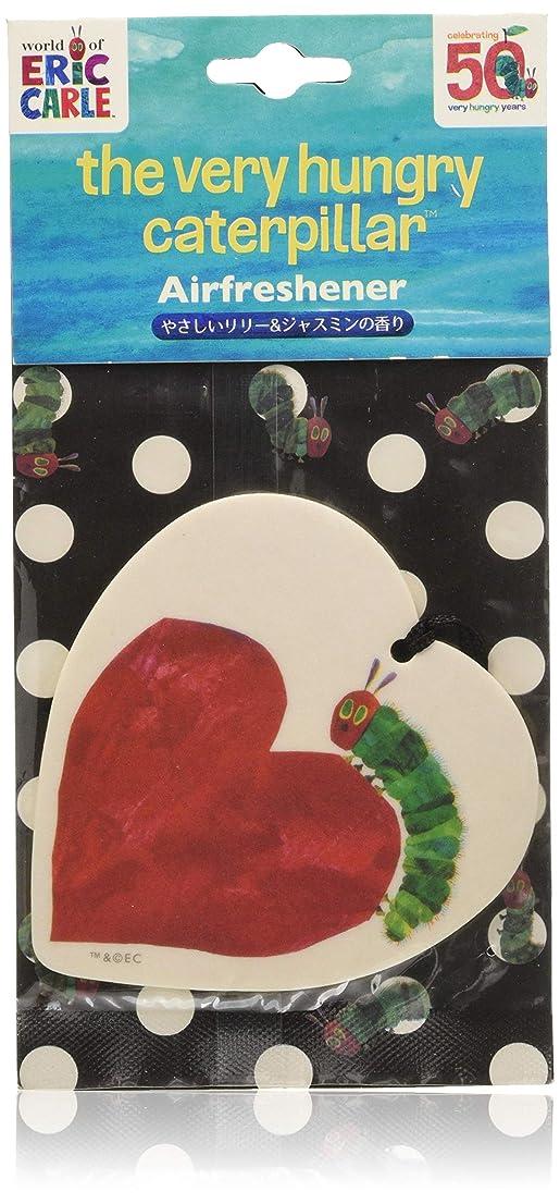 実験手綱アリーナはらぺこあおむし 50周年限定デザイン ルームフレグランス エアーフレッシュナー 吊り下げ 3枚セット リリー&ジャスミンの香り HPA-6-01