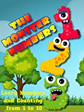 The Monster Numbers - Learn Numbers and Counting from 1 to 10