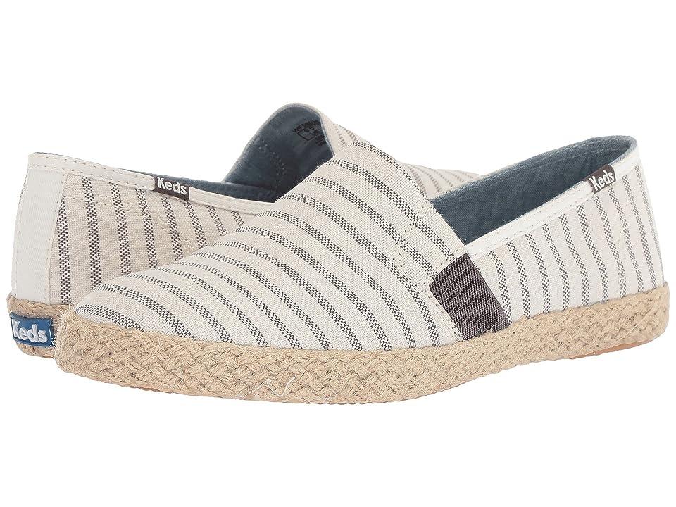Keds Chillax A-Line Stripe/Jute (Cream) Women