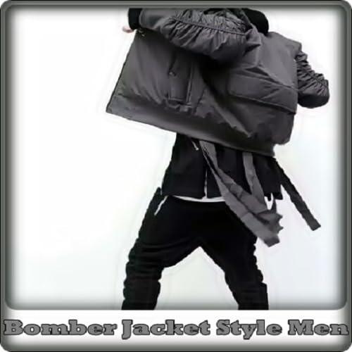 Bomber Jacket Style Men