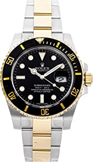 Rolex Submariner Mechanical (Automatic) Black Dial Mens Watch 116613LN (Certified Pre-Owned)