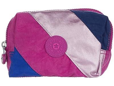 Kipling Elin Pouch (Pink Mix Block) Handbags