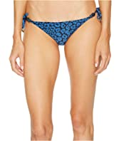 Stella McCartney - Leopard Tie Side Bikini Bottom