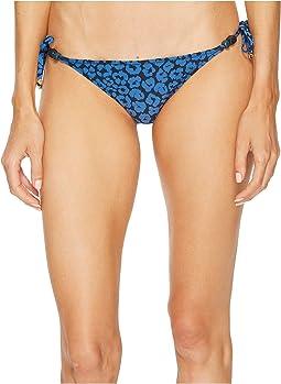 Leopard Tie Side Bikini Bottom