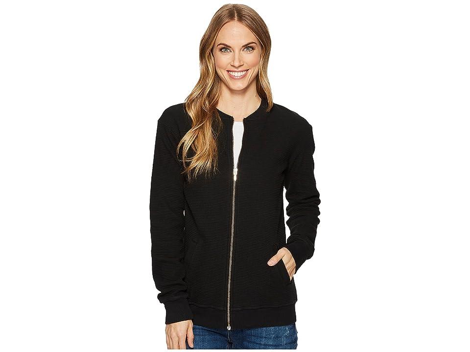 Allen Allen Box Thermal Baseball Jacket (Black) Women's Coat