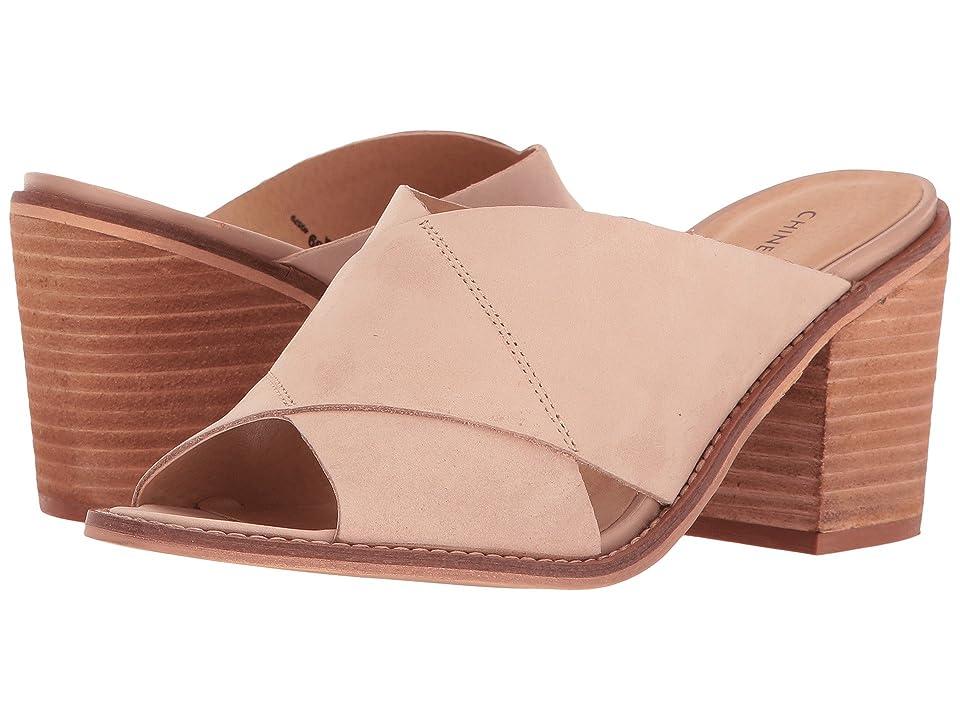 Chinese Laundry Crissa (Cream Leather) High Heels