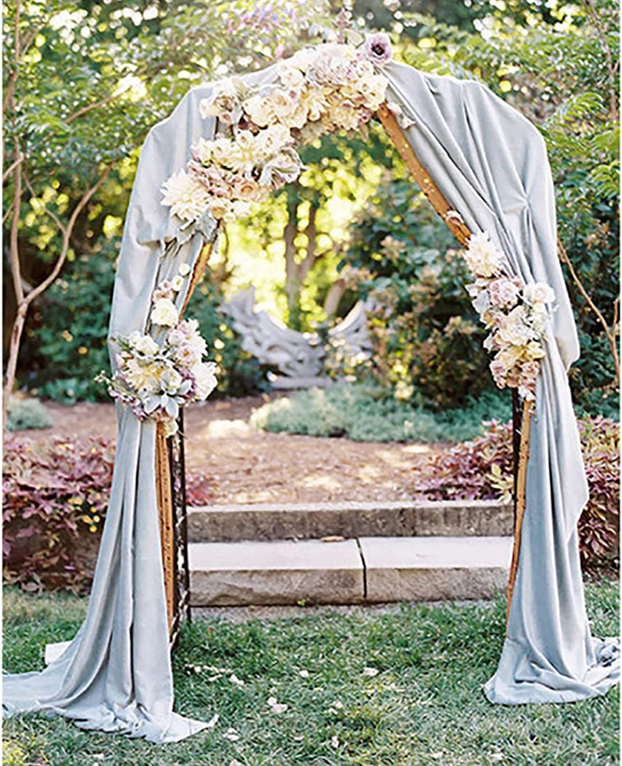 Rylod Super beauty overseas product restock quality top 7.5 Ft Iron Wedding Arbor Arch wi Outdoor Decorative