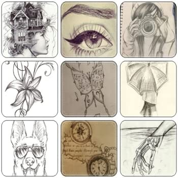 easy art drawings