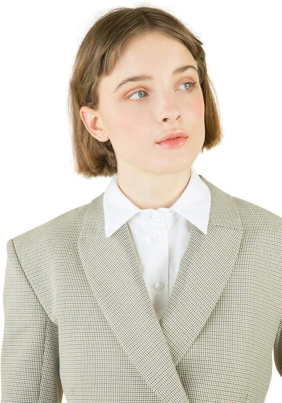 MOOZI Fake Collar Detachable Collar Insert Attachment Faux Collar Shirt False Collar