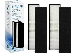 Fette Filter True HEPA Filter 2 Pack Compatible with GermGuardian FLT5000 FLT5111 AC500 Series, Filter C - Compatible with AC5250PT AC5300BAC5350AC5350BAP2800CA - Compatible with Germ Guardian
