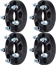 SCITOO 1 inch Wheel Spacers Hub Centric 5 Lug 25mm 5x4.5 to 5x4.5 5x114.3mm to 5x114.3mm 66.2mm 4X Compatible with Nissan Maxima Altima Infiniti Q45 M30 M45 12x1.25 Studs