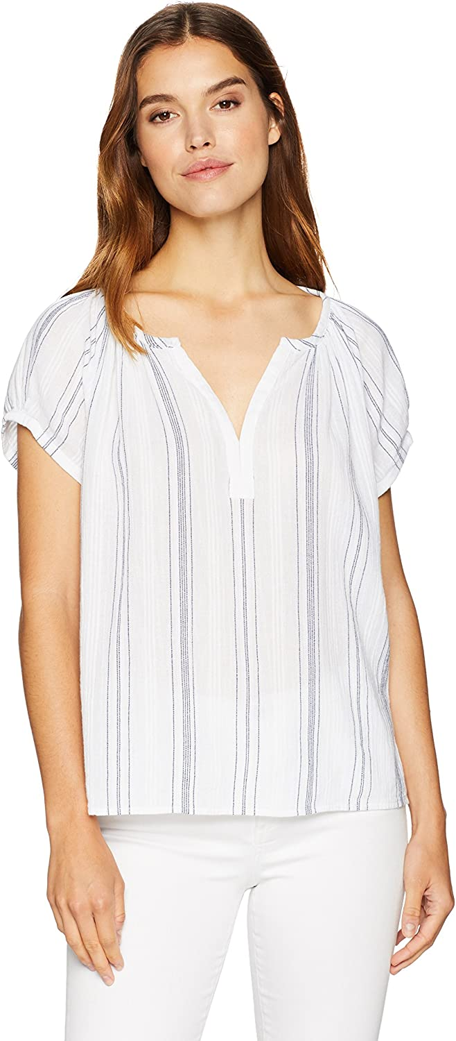 AG Adriano goldschmied Womens Ariel Blouse Blouse