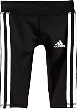 adidas Kids - Basic Capri Tights (Toddler/Little Kids)