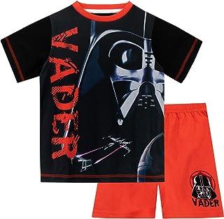 NUOVO Disney Star Wars RAGAZZO button down manica corta Camicia Taglia XS 4-5