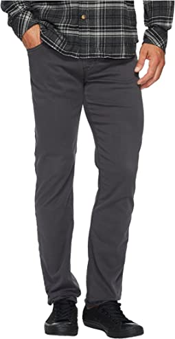 Blake Slim Straight Twill in Metal