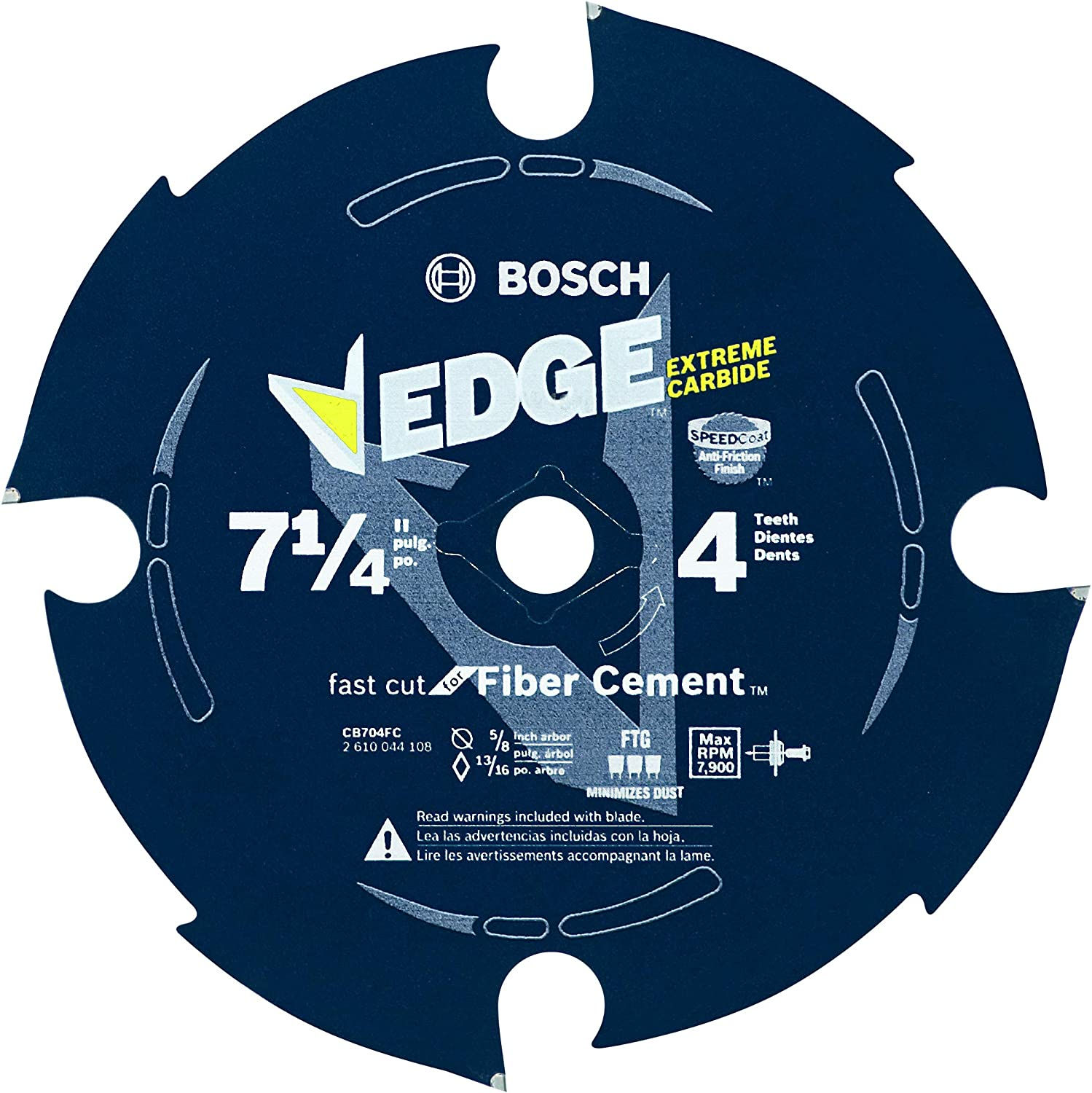 BOSCH CB704FC 7-1 4 In. Fiber A surprise price is realized -PieceD Limited Special Price Tooth Circular Cement