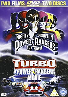 Power Rangers-Movie/Turbo-Movie DVD [Reino Unido]