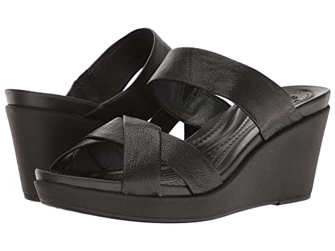 d401313c9697 Crocs Leigh-Ann Wedge Leather at 6pm
