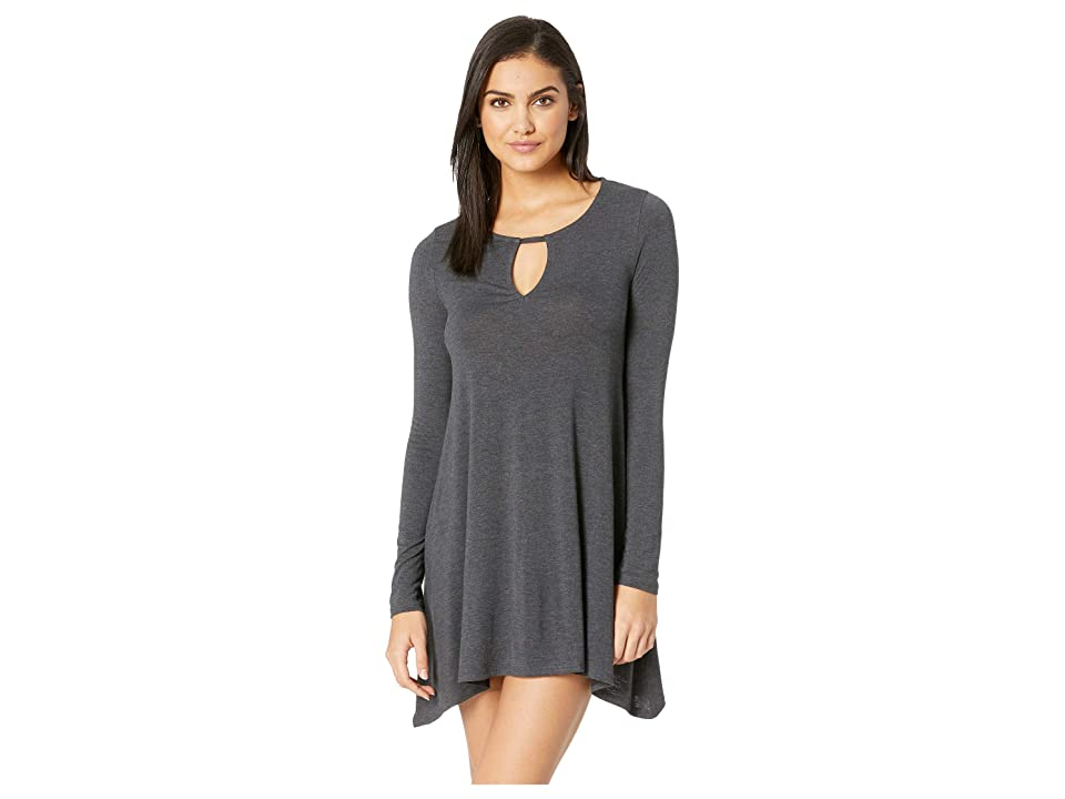 Rip Curl Essentials Long Sleeve Dress (Black) Women