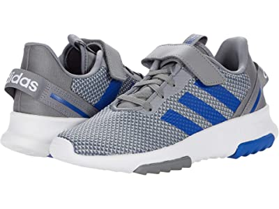 adidas Kids Racer TR 2.0 (Little Kid) (Grey/Team Royal Blue/Halo Silver) Kid